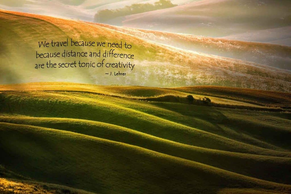 TYN - why travel - we travel because we need to quote pic