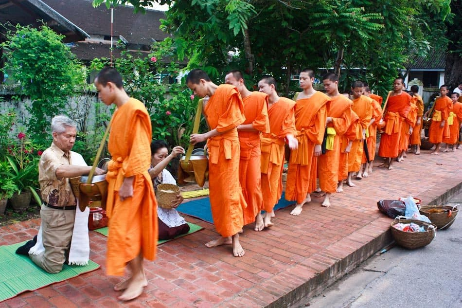 LuangPrabang- monks - johnny Vagabond