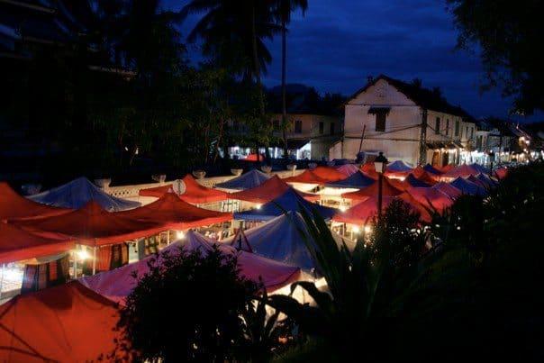 luang prabang - market 2010