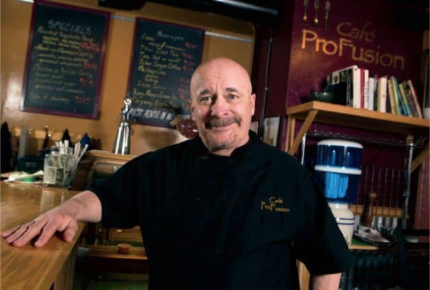Owner of Cafe Pro Fusion. Source: Colorado Summit Magazine