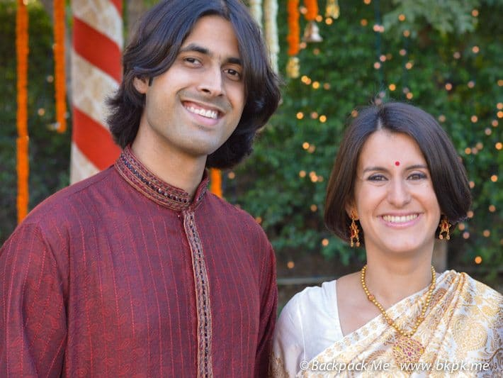 A&Z getting married in India
