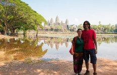 At Angkor Wat, Cambodia
