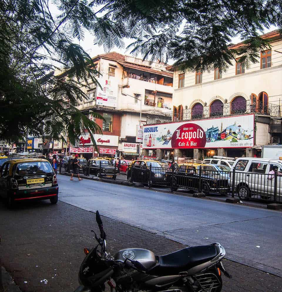 Leopold's Cafe (made famous by Shantaram)