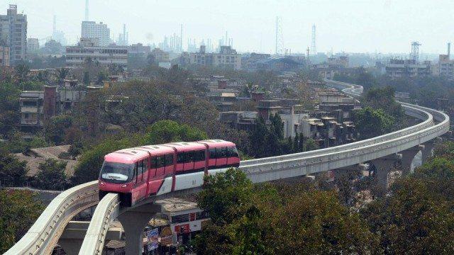 Mumbai Public Transport Images
