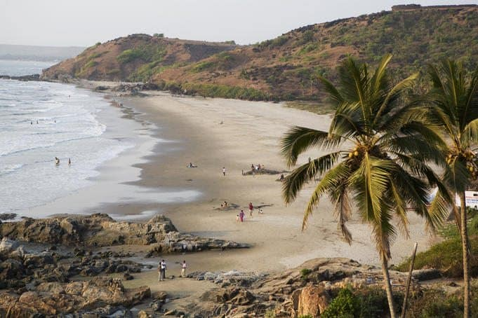Vagator Beach - photo credit: Lonely Planet