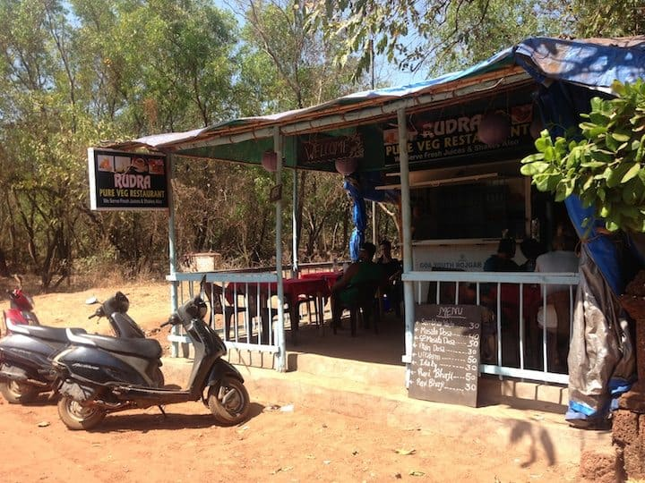 Rudra - best cheap indian food in Anjuna