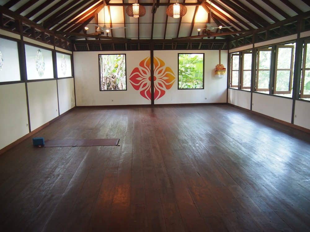 radiantly alive yoga studio ubud
