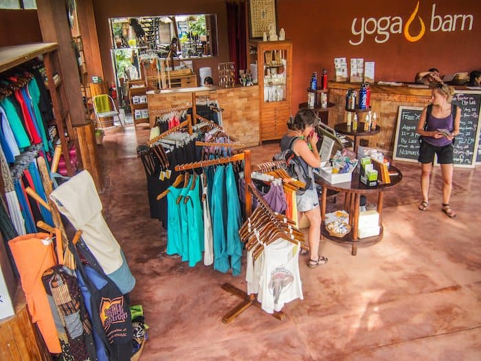 yoga barn retail shop - ubud, Indonesia