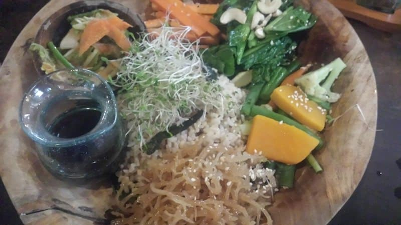 Tiger Bowl - with Kimchee and Seaweed