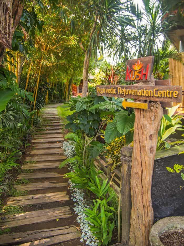 kush ayervedic center in Yoga Barn