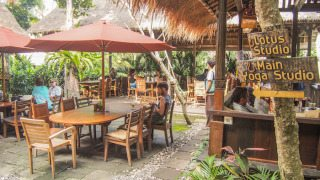 Yoga Barn's onsite restaurant, Garden Kafe - Ubud, Indonesia