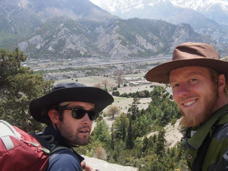 Bring a hat and sunglasses on the Annapurna Circuit
