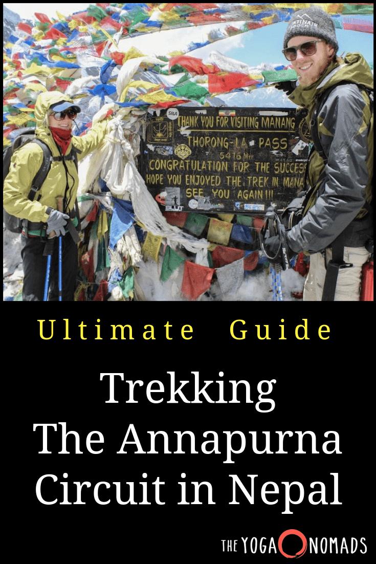 annapurna trek blog