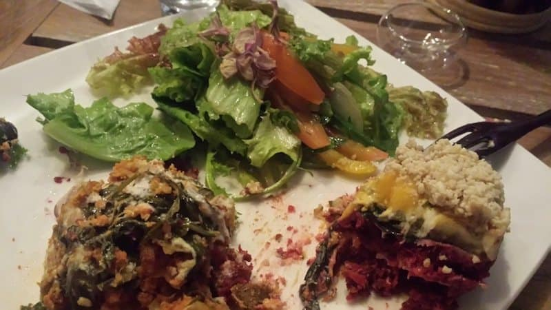 Raw Lasagna at Seeds of Life