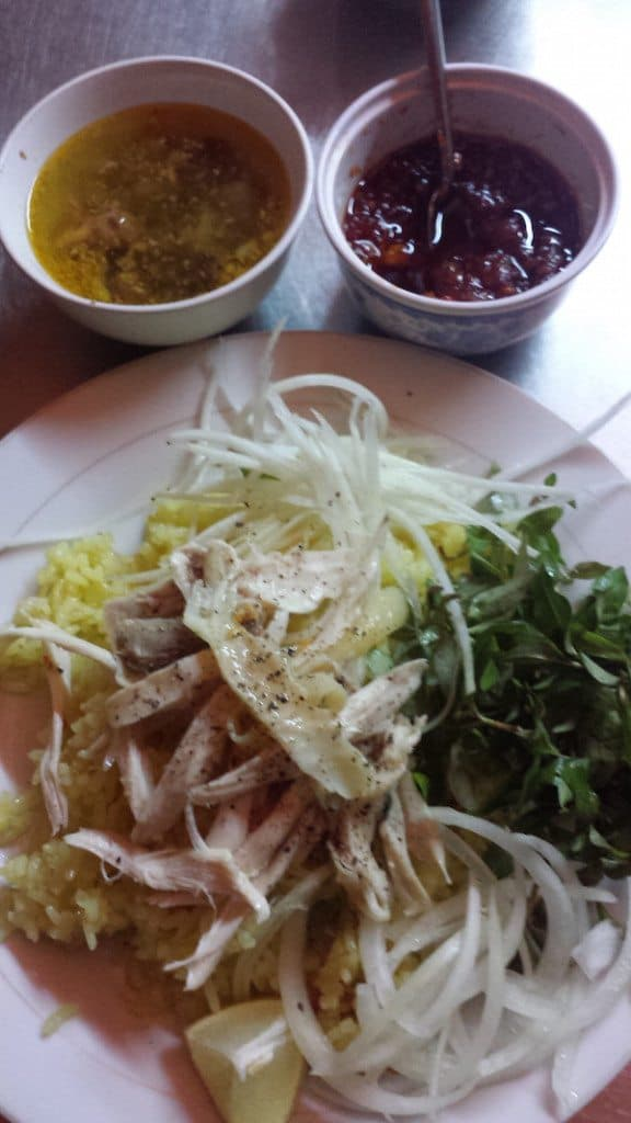 Com Ga - chicken rice - hoi an