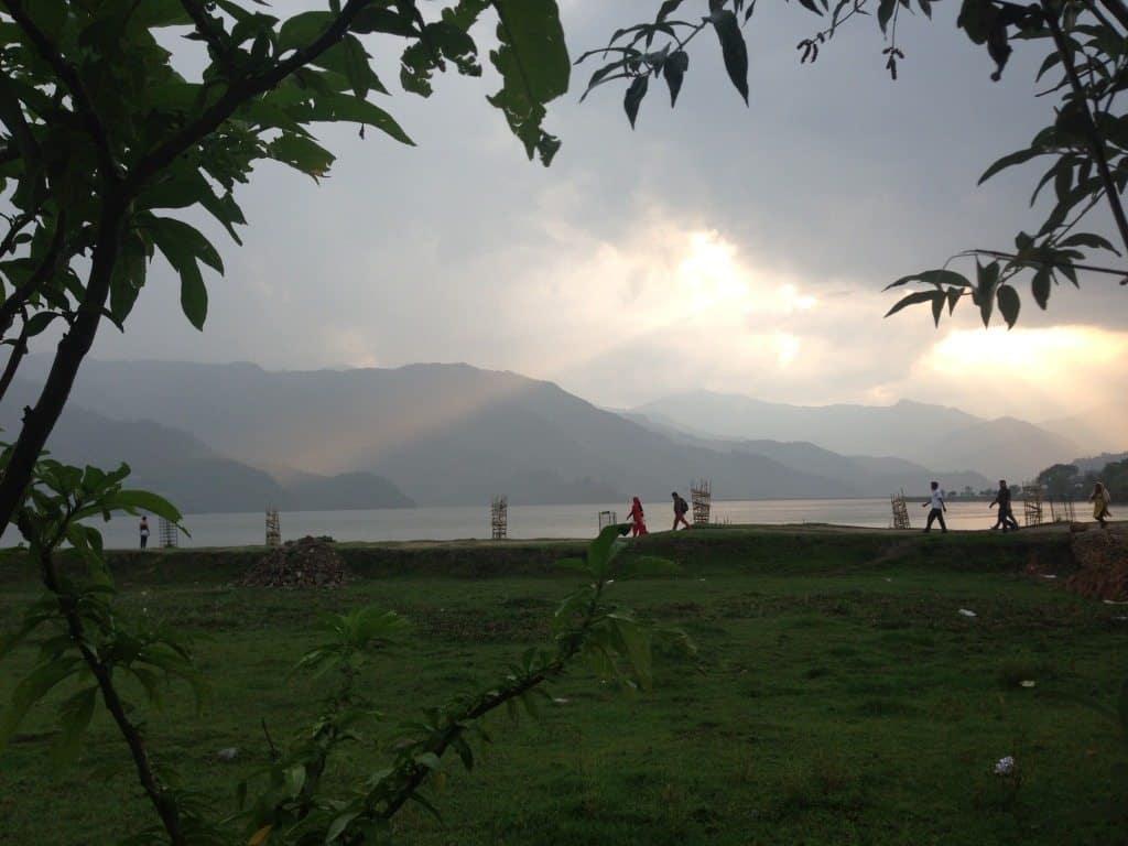 Pokhara Nepal Lake
