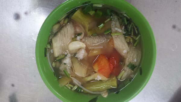 canh chua - sour soup