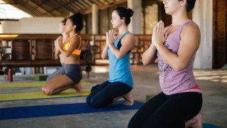 Yoga at Hulakai Hotel, Playa Maderas, Nicaragua