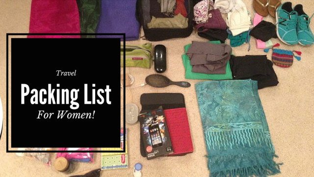 packing-list-for-women-travelers
