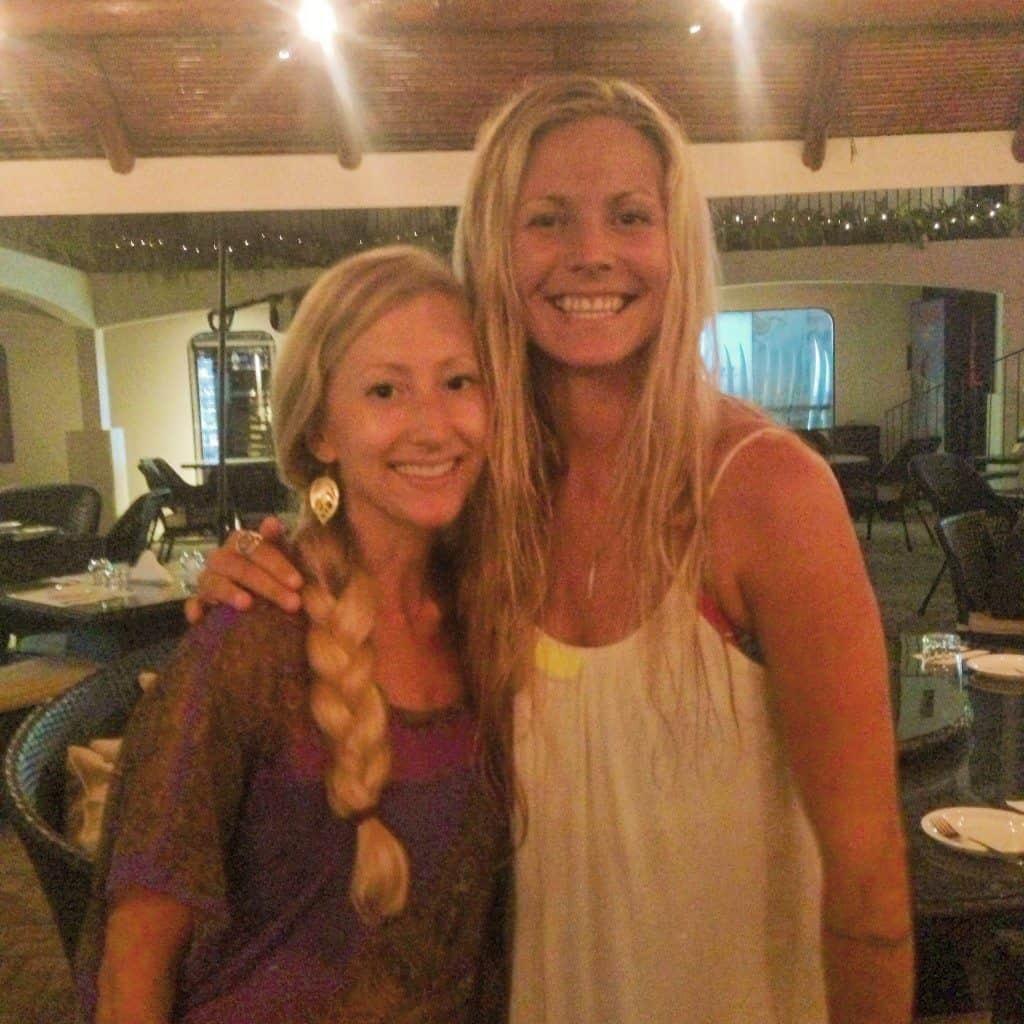 Anne Rapp et Rachel Brathen au Costa Rica