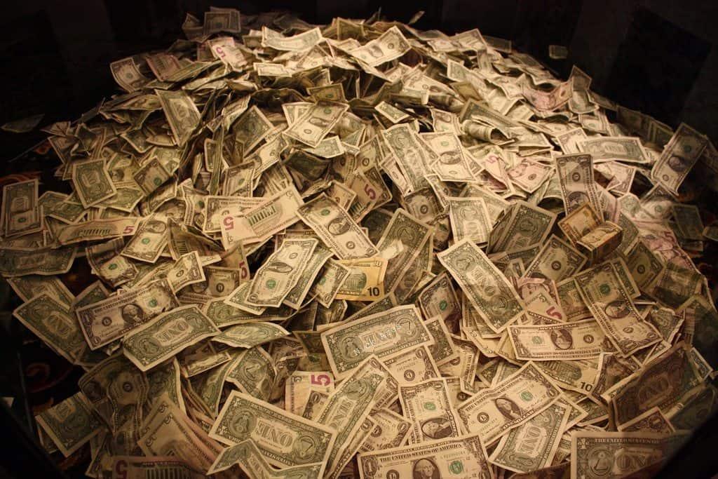 pile of loot