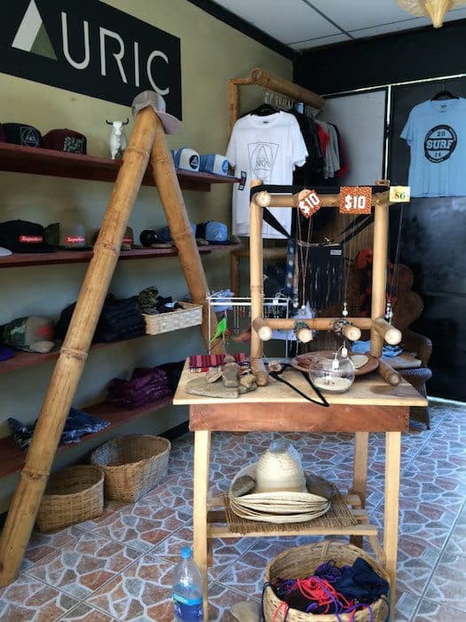 auric surf shop clothes in san juan del sur