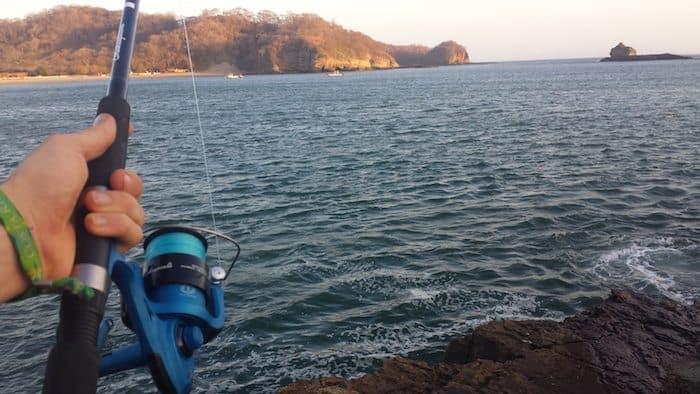 fishing in playa maderas nicaragua