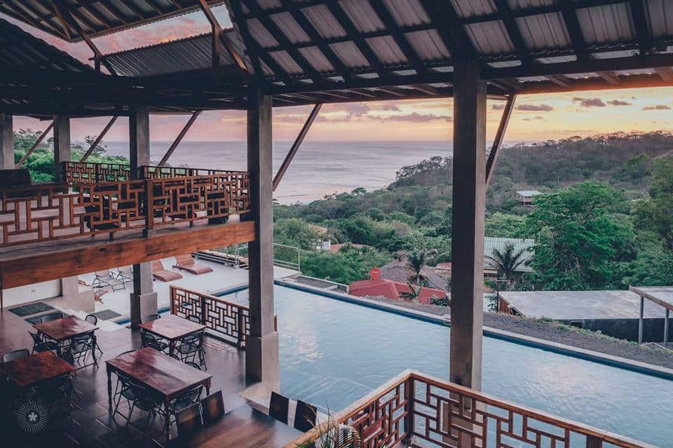 hulakai hotel - maderas beach - sunset
