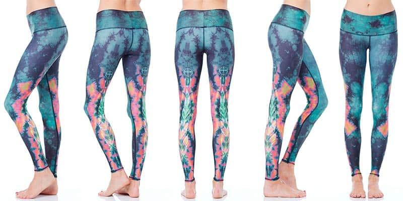 yoga gift ideas for valentines day - teeki patterned yoga pants