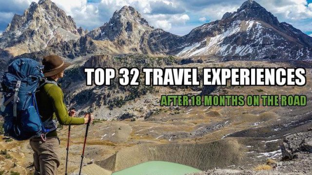 top 32 travel experiences cover photo