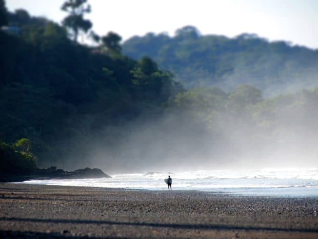 dominical beach in costa rica
