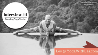 Les Leventhal traveling yoga teacher interview