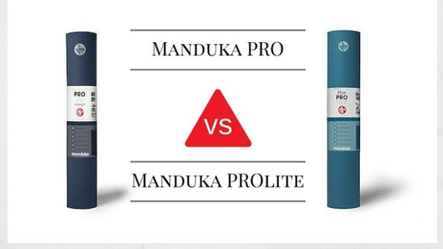 Manduka Pro Vs Prolite Yoga Mat Comparison The Yoga Nomads