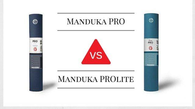 Manduka Pro Vs Prolite Yoga Mat Comparison The Yoga Nomads
