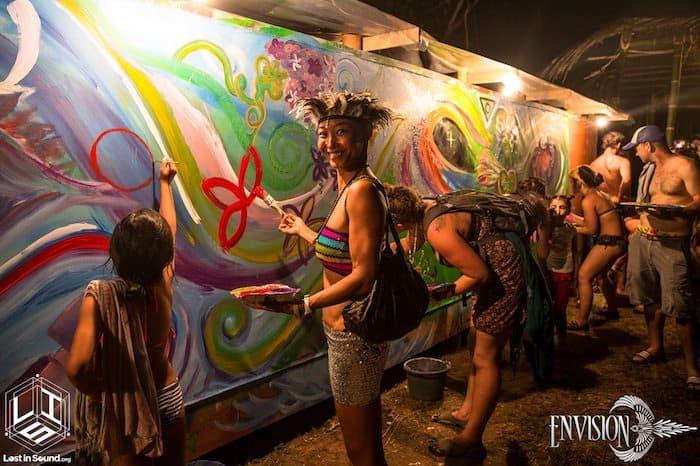 art at envision festival costa rica