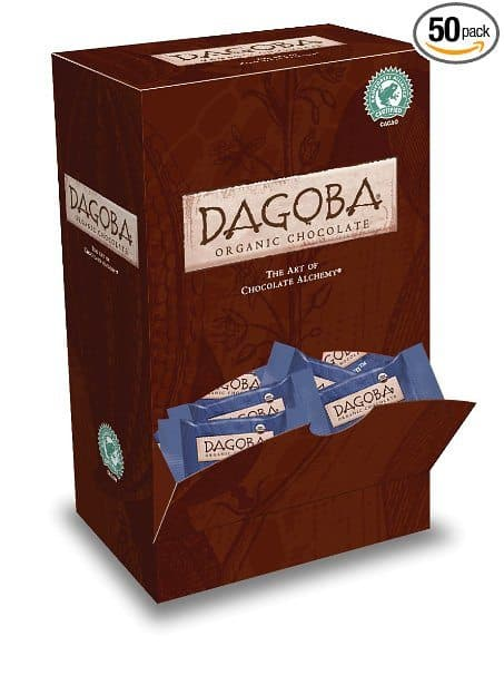 valentines day gift for a yoga lover - chocolate