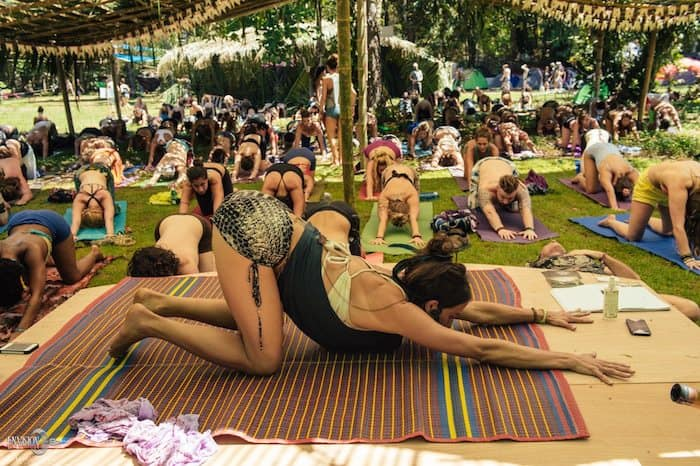 yoga classes at envision festival 2016
