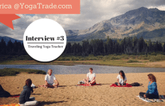 interview of a traveling yoga teacher