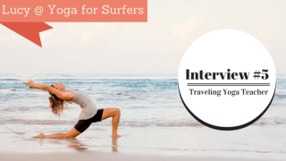 yoga for surfing interview - lucy foster perkins