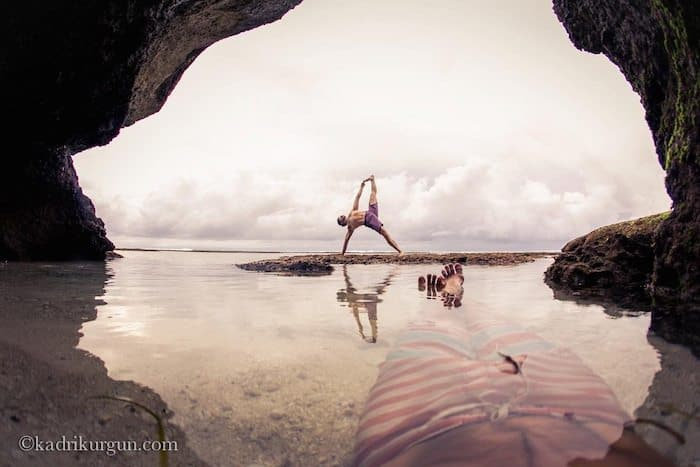 traveling yoga teacher interview