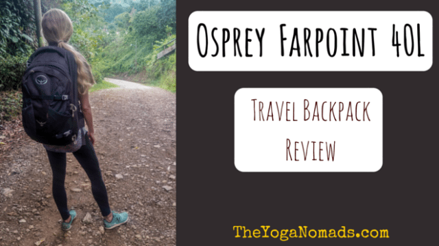 Osprey Farpoint 40 Review: Best travel backpack in 2016 - The Yoga ...