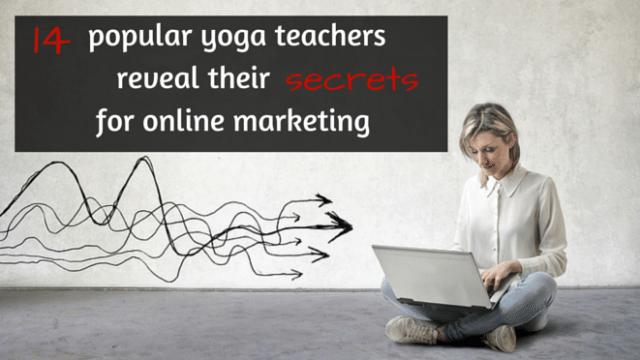 14 popular yoga teachers reveal their j