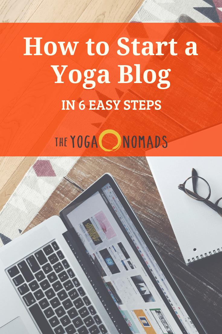 Yoga teacher website instructions