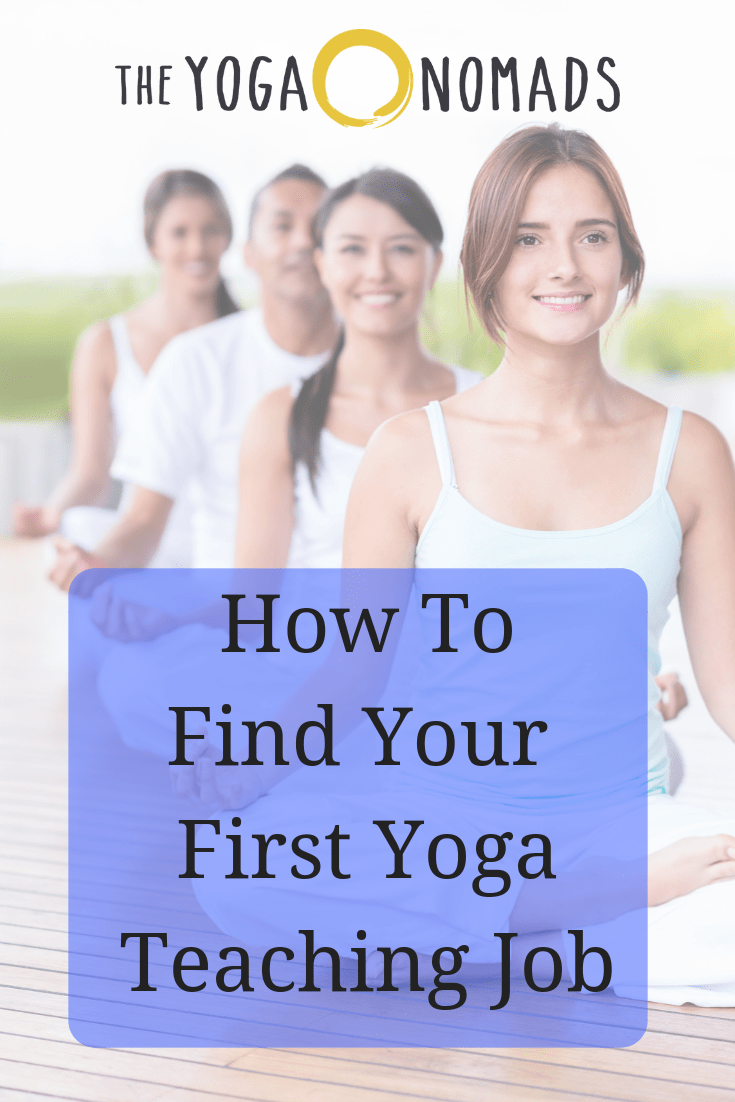 Finding your First Yoga Teaching Job
