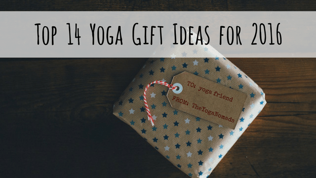 Top 14 Yoga Gift Ideas! (2016 Holiday Shopping Guide