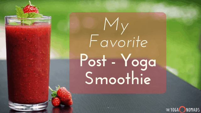 yoga smoothie