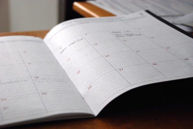 Schedule your week