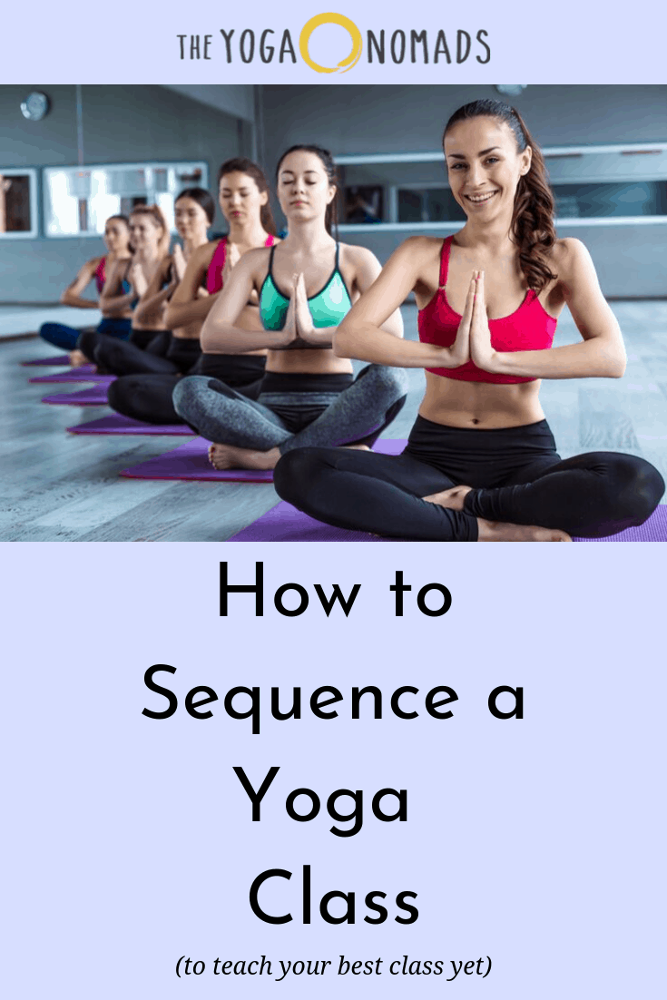 How to Sequence Yoga Class