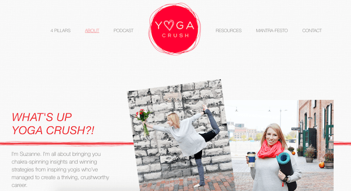 Yoga-Crush-Website