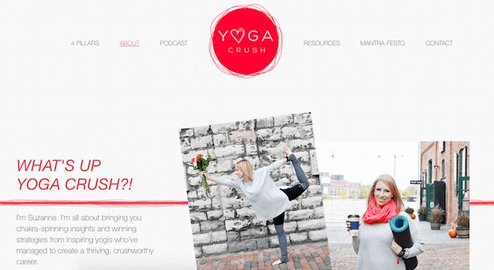 Yoga-Crush-Website